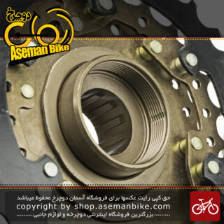 خودرو پیچی دوچرخه شیمانو مدل ام اف تی زد 500 7 سرعته 14-28 دندانه Shimano Road Cassette MF-TZ 500 7 Speed 14-28T