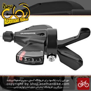 دسته دنده دوچرخه شیمانو مدل آسرا ام 310 3 در 7 سرعته Shimano SL M310 Acera 3X7