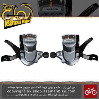 دسته دنده شیمانو دوچرخه مدل آلیویو اس ال ام 4000 Shimano Shifter Bicycle SL-M4000 3×9 Speed