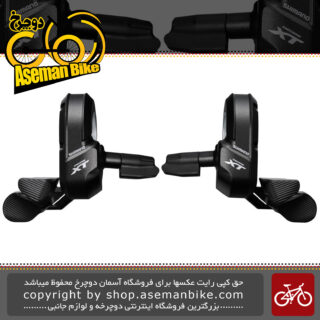 دسته دنده سیستم برقی الکتریکی دوچرخه شیمانو ایکس تی ژاپن 2/3 در 11 سرعته ام 800 Shimano XT Di2 SW-M800 2-3x11 Speed Shifter