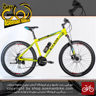دوچرخه کوهستان شهری ویوا مدل کمپ ترمز دیسکی روغنی هیدرولیک 24 دنده سایز 27.5 Viva Mountain City Bicycle CAMP 18 DISC 18 27.5 2018