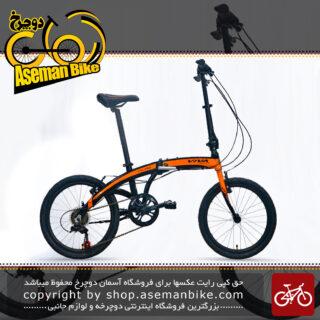 دوچرخه شهری تاشو آلومینیومی ویوا مدل اف دی ام 8 سایز 20 Viva Bicycle City Folding FD M8 2018