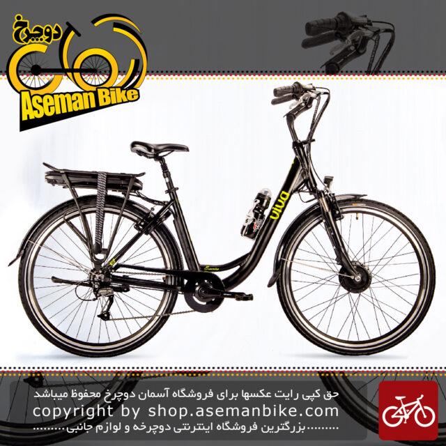 دوچرخه برقی شهری ویوا مدل هیبرید 1 سایز 28 Viva Electric City Bicycle Hybrid 1 28 2018