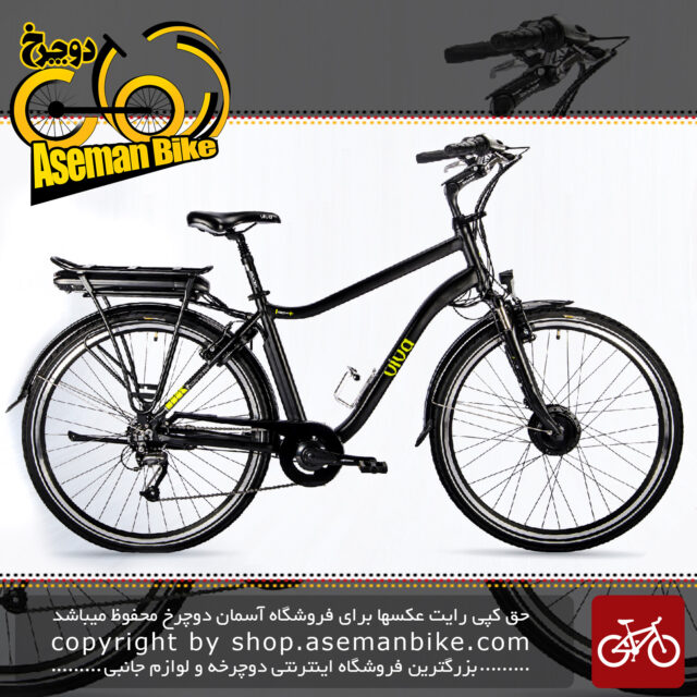 دوچرخه برقی شهری ویوا مدل هیبرید 3 سایز 28 Viva Electric City Bicycle Hybrid 3 28 2018