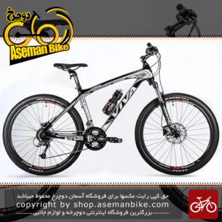 دوچرخه کوهستان کربن ویوا مدل لاندن 27 دنده شیمانو دیور ژاپن سایز 26 دیسک روغنی هیدرولیک Viva Mountain Crabon Bicycle LONDON Disc Hydraulic 26 2018
