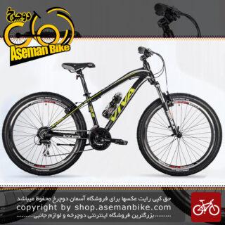 دوچرخه کوهستان شهری ویوا مدل لوئیس 24 دنده شیمانو سایز 26 Viva Mountain City Bicycle LOUIS 15 26 2018