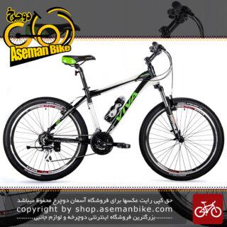 دوچرخه کوهستان شهری ویوا مدل متال 24 دنده شیمانو سایز 26 Viva Mountain City Bicycle Metal 17 26 2018