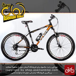 دوچرخه کوهستان شهری ویوا مدل پلیس 24 دنده شیمانو سایز 26 Viva Mountain City Bicycle POLICE 17 26 2018