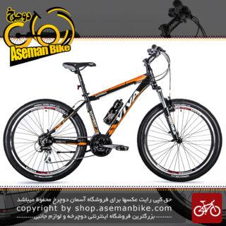دوچرخه کوهستان شهری ویوا مدل سوپر بایک 24 دنده شیمانو سایز 26 Viva Mountain City Bicycle SUPERBIKE 17 26 2018
