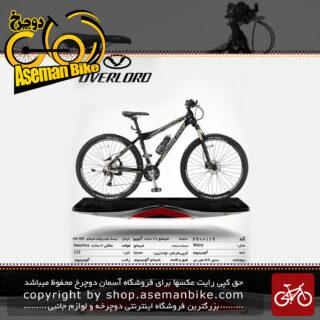 دوچرخه کوهستان شهری اورلرد مدل نیترو 27 دنده شیمانو آلیویو سایز 29 ساخت تایوان OVERLORD Mountain City Taiwan Bicycle NITRO 29 2018