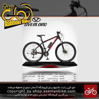 دوچرخه کوهستان شهری اورلرد مدل پلاتینیوم 27 دنده شیمانو آلیویو سایز 29 ساخت تایوان OVERLORD Mountain City Taiwan Bicycle PELATINIUM 29 2018