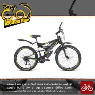 دوچرخه دو کمک کوهستان مدل 26182 سایز 26 Olympia 26182 Mountain Bicycle Size 26