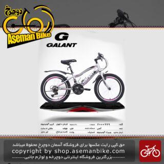 دوچرخه کوهستان شهری گالانت 21 دنده مدل 998 21 دنده سایز 20 ساخت تایوان GALANT Mountain City Bicycle Taiwan 998 20 2019
