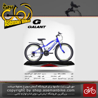 دوچرخه کوهستان شهری گالانت 746 21 دنده سایز 24 ساخت تایوان GALANT Mountain City Bicycle Taiwan 746 24 2019
