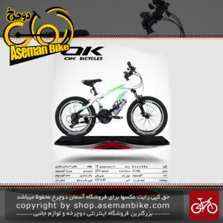 دوچرخه کوهستان شهری اوکی 21 دنده مدل کا 1100 21 دنده سایز 20 ساخت تایوان OK Mountain City Bicycle Taiwan K1100 20 2019