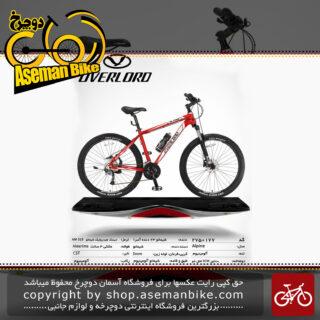 دوچرخه کوهستان شهری اورلرد مدل آلپاین 24 دنده شیمانو آسرا سایز 27.5 ساخت تایوان OVERLORD Mountain City Taiwan Bicycle ALPINE 27.5 2019