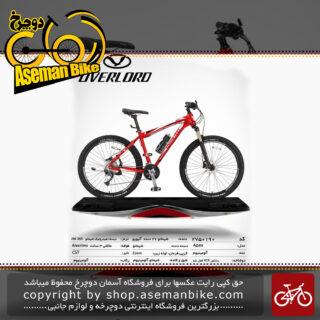 دوچرخه کوهستان شهری اورلرد مدل اپکس 27 دنده شیمانو آلیویو سایز 27.5 ساخت تایوان OVERLORD Mountain City Taiwan Bicycle APEX 27.5 2019