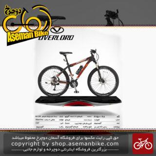 دوچرخه کوهستان شهری اورلرد مدل لئوپارد 27 دنده شیمانو آلیویو سایز 27.5 ساخت تایوان OVERLORD Mountain City Taiwan Bicycle LEOPARD 27.5 2019