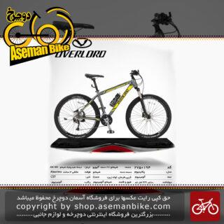 دوچرخه کوهستان شهری اورلرد مدل پلاتینیوم 27 دنده شیمانو آلیویو سایز 27.5 ساخت تایوان OVERLORD Mountain City Taiwan Bicycle PLATINUM 27.5 2019