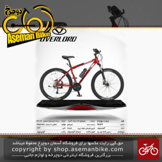 دوچرخه کوهستان شهری اورلرد مدل اسپارک 24 دنده شیمانو آسرا سایز 27.5 ساخت تایوان OVERLORD Mountain City Taiwan Bicycle SPARK 27.5 2019