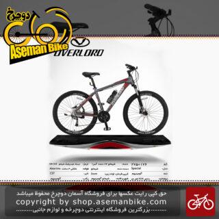 دوچرخه کوهستان شهری اورلرد مدل اسپشال 24 دنده شیمانو آسرا سایز 27.5 ساخت تایوان OVERLORD Mountain City Taiwan Bicycle SPECIAL 27.5 2019