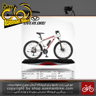 دوچرخه کوهستان شهری اورلرد مدل زد فور 27 دنده شیمانو آلیویو سایز 27.5 ساخت تایوان OVERLORD Mountain City Taiwan Bicycle Z4 27.5 2019