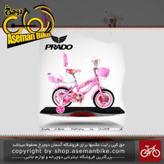 دوچرخه پرادو تایوان صندوق و پشتی دار مدل 374 سایز 12 PRADO Bicycle 374 Size 12 2019