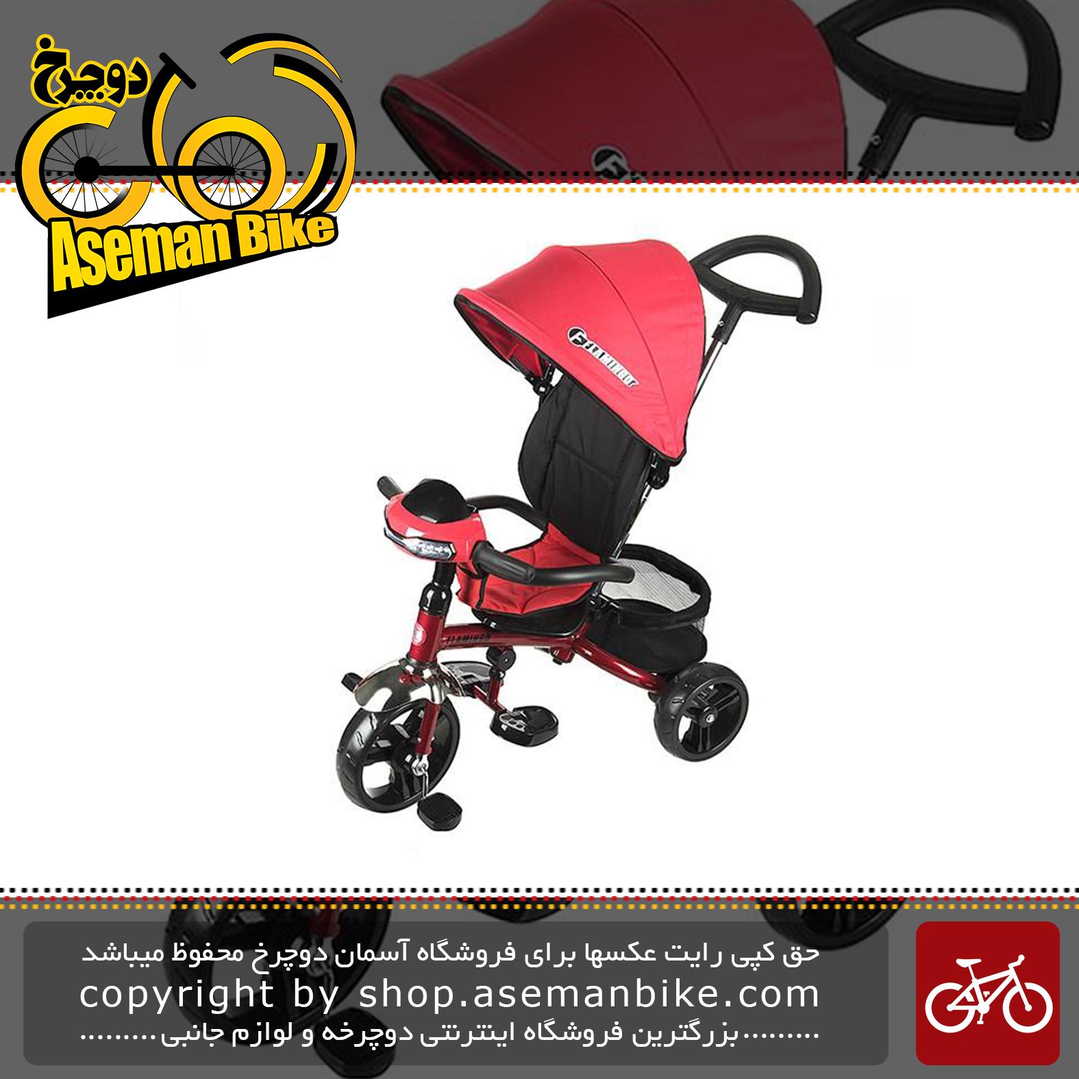 سه چرخه فلامینگو مدل Flamingo T200 Tricycle