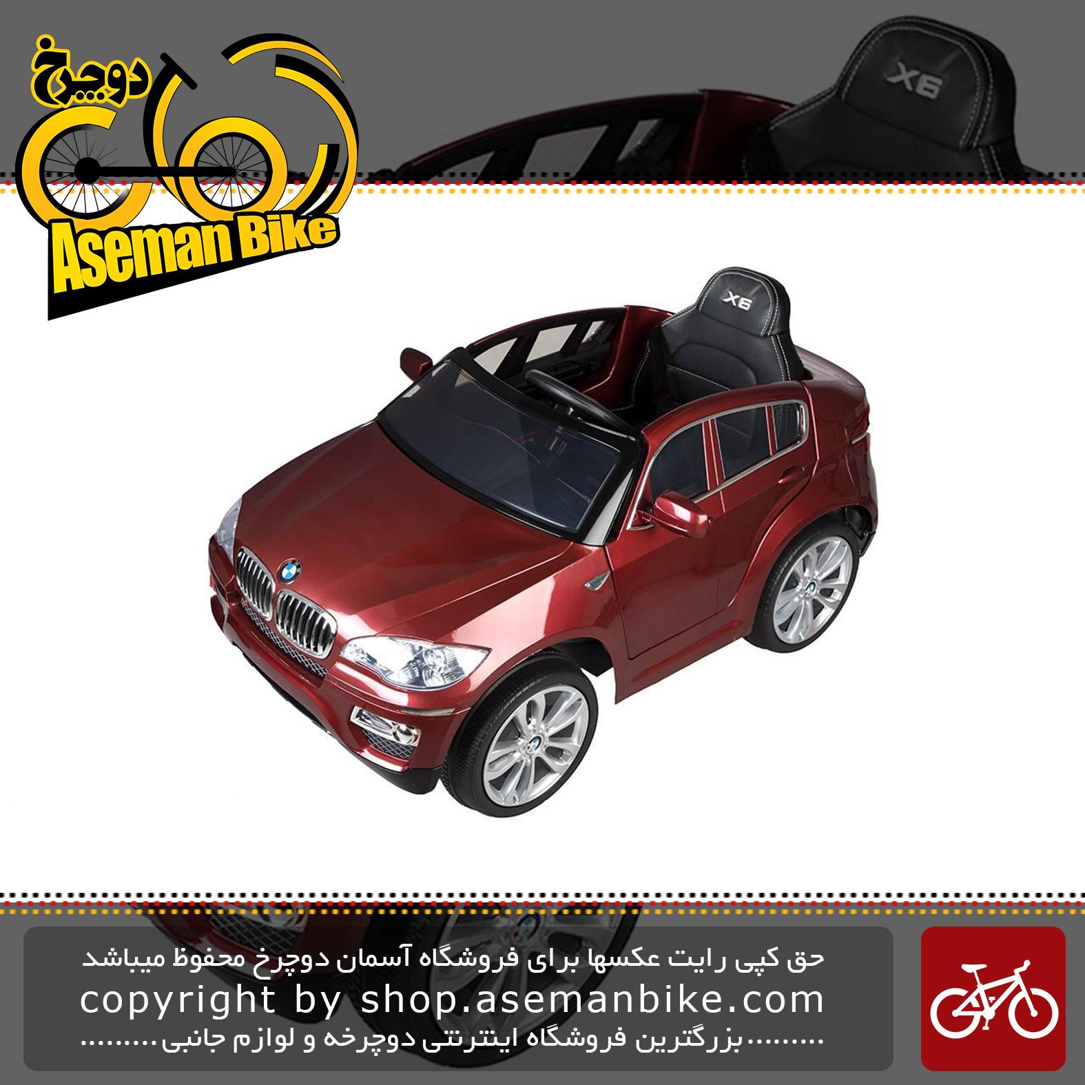ماشین بازی سواری مدلBMW X6 SUV Ride On Toy Car