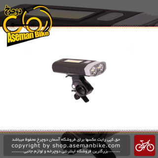 چراغ جلو دوچرخه انرژی مدل Bicycle Safety Light LM 1000 Brigiva