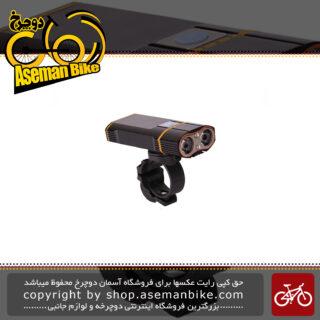 چراغ جلو دوچرخه انرژی مدل ال ام 900بریجیوا Bicycle Safety Light LM 900 Brigiva