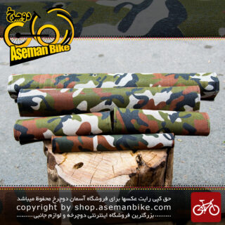کاور بدنه دوچرخه 5 تیکه ارتشی Cover Frame Bicycle 5 part Army