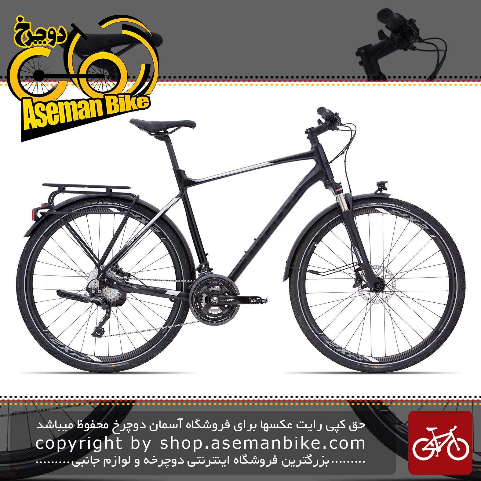 دوچرخه توریستی شهری حرفه ای کربن جاینتGaint AllTour SLR 0