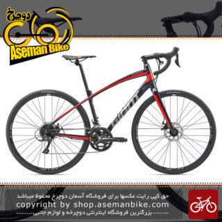 دوچرخه کورسی جاده مسابقات حرفه ای کربن جاینتGaient AnyRoad 2