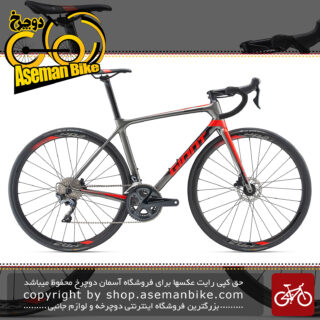 دوچرخه کورسی جاده مسابقات حرفه ای کربن جاینتGiantTCR Advanced 1 Disc