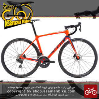 دوچرخه کورسی جاده مسابقات حرفه ای کربن جاینتTCR Advanced 2 Disc