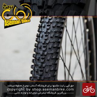 تایر لاستیک دوچرخه کندا سایز 26 در 2.35 عاج ریز ابریشمی Kenda Tire Bicycle K1153 26x2.35
