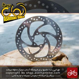 روتور صفحه دیسک دوچرخه 6 پیچ با سایز 160 میلیمتری Rotor 6 Bolt Bicycle 160mm