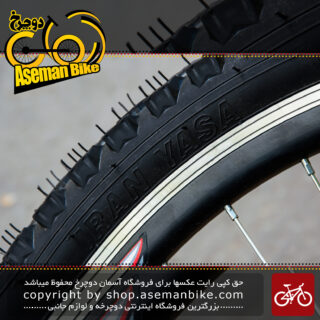 لاستیک تایر دوچرخه ساخت ایران یاسا سایز 26 در 2.00 Tire Bicycle Iran Yasa 26x2.00