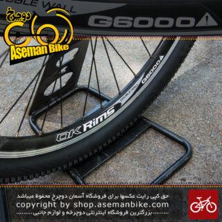 طوقه کامل عقب دوچرخه به همراه تایر و تیوپ مارک اوکی ریمز جی 6000 Whell set Ok Rims G6000 with tire Tube