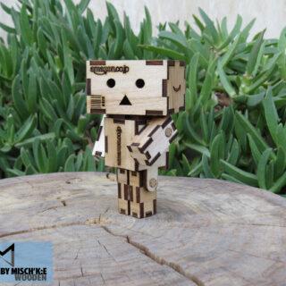 عروسک آمازون دانبو چوبی مشکی برند مدل ایکس تی 008 Danbo Amazon Doll XT008