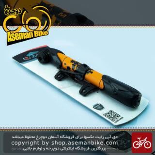 تلمبه دستی پی اس ای 87 دوچرخه زفال نارنجی/مشکی مدل Mini Pump Bicycle zefal Orange/Black 8288 ۸۲۸۸