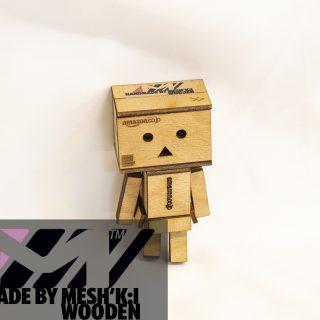 عروسک آمازون دانبو چوبی مشکی برند مدل سی کی 008 Danbo Amazon Doll CK008