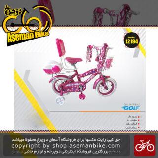 دوچرخه شهری بچگانه گلف صندوق دار و سبد دار و پشتی دار سایز 12 GOLF Bicycle kids Size 12 2019