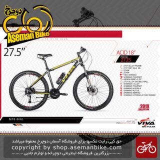 """دوچرخه کوهستان سایز 27.5 ویوا مدل اسید 18 Viva ACID""""18"""" SIZE 27.5 20192019"""