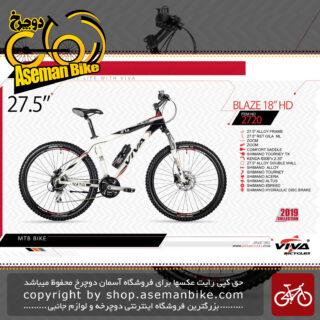 دوچرخه کوهستان سایز 27.5ویوا مدل بلاز18 اچ دی VIVA BLAZE 18 HD SIZE 27.5 2019 2019