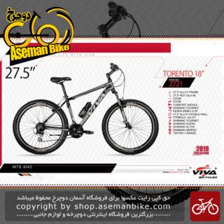 دوچرخه کوهستان سایز 27.5ویوا مدل تورتو 18 VIVA TORENTO 18 SIZE 27.5 2019 2019