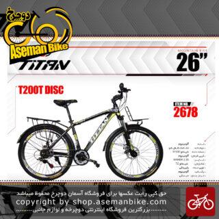 دوچرخه کوهستان تایتان سایز 26 مدل تی 200دیسک TITAN SIZE 26 T200 DISC