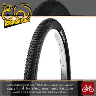 لاستیک تایر دوچرخه سایز 27.5 در 2.10 برند دلی استاندارد ژاپن ساخت اندونزی مدل اس ای 270 عاج ریز Tire Bicycle Deli 27.5x2.10 650x54B 54-584 SA-270