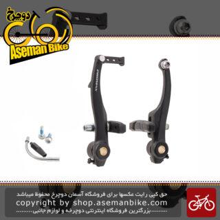 ترمز ویبریک لقمه ای دوچرخه پرومکس ساخت تایوان PROMAX V Brake Aluminium TX-115 Bicycle Taiwan
